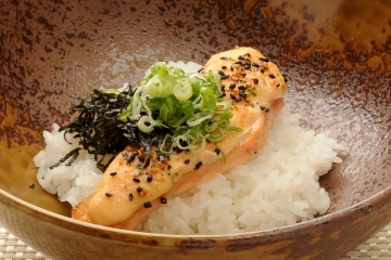 Mentai Mayo Salmon Don